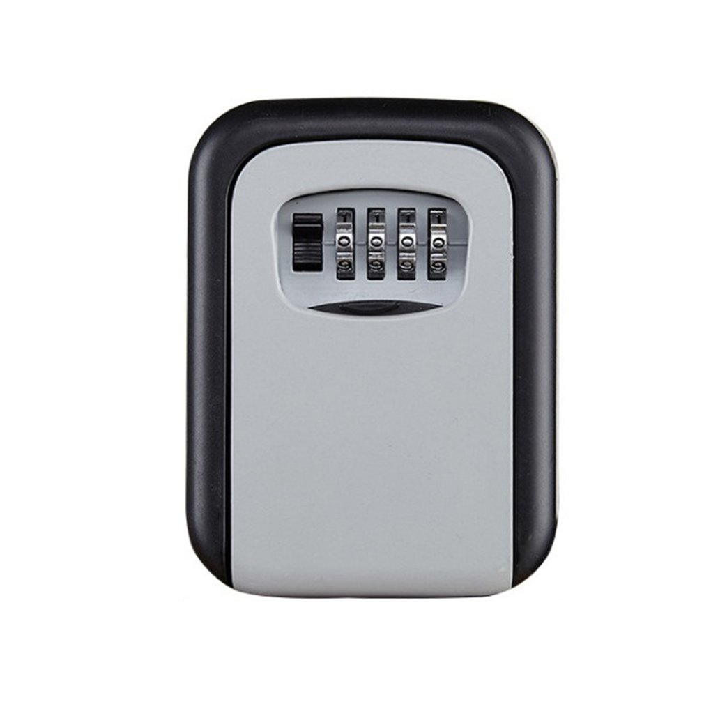 Home Password Key Box Mechanical Password Key Box Wall-Mounted Housekeeper Metal Key Box Wall-Mounted Key Box