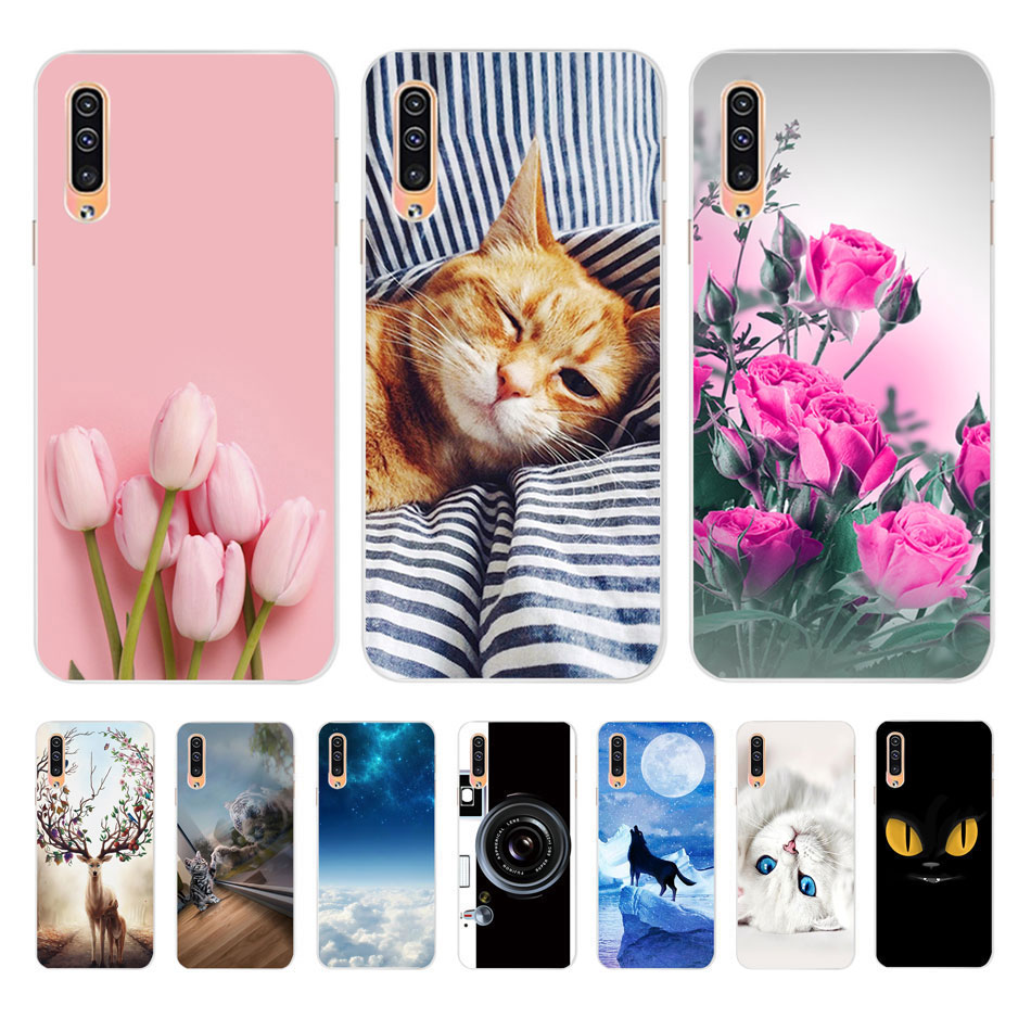 For <font><b>Samsung</b></font> A30s Case 2019 For Coque <font><b>Samsung</b></font> <font><b>Galaxy</b></font> <font><b>A50</b></font> A505 <font><b>A505F</b></font> A 50 A50s A30S Case Cover Silicone Soft TPU bumper Phone Case image