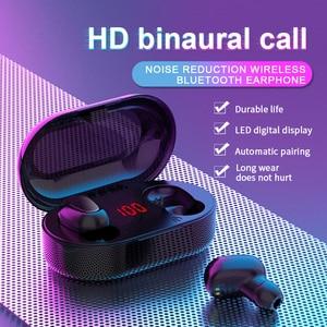 Image 2 - Mini TWS Wireless Earphones Sport HIFI Headphones Noise Cancelling Earbuds Cordless Headset Water Proof Headphone