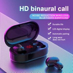 Image 2 - מיני TWS אלחוטי אוזניות ספורט HIFI אוזניות רעש ביטול אוזניות אלחוטי אוזניות מים הוכחת אוזניות