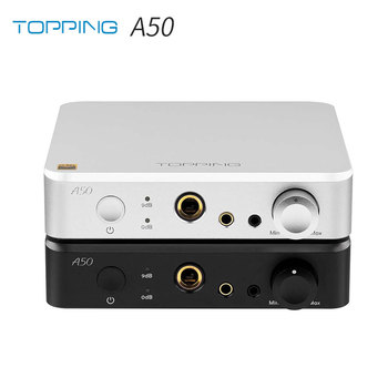 TOPPING A50 Desktop Headphone Amplifier Combined with Topping D50s D50 P50 1