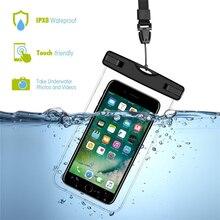 2 шт ПВХ герметичный чехол для телефона 6,5 дюймов Профессиональный мобильный водонепроницаемый чехол для плавания пляжный чехол для samsung для iPhone A40