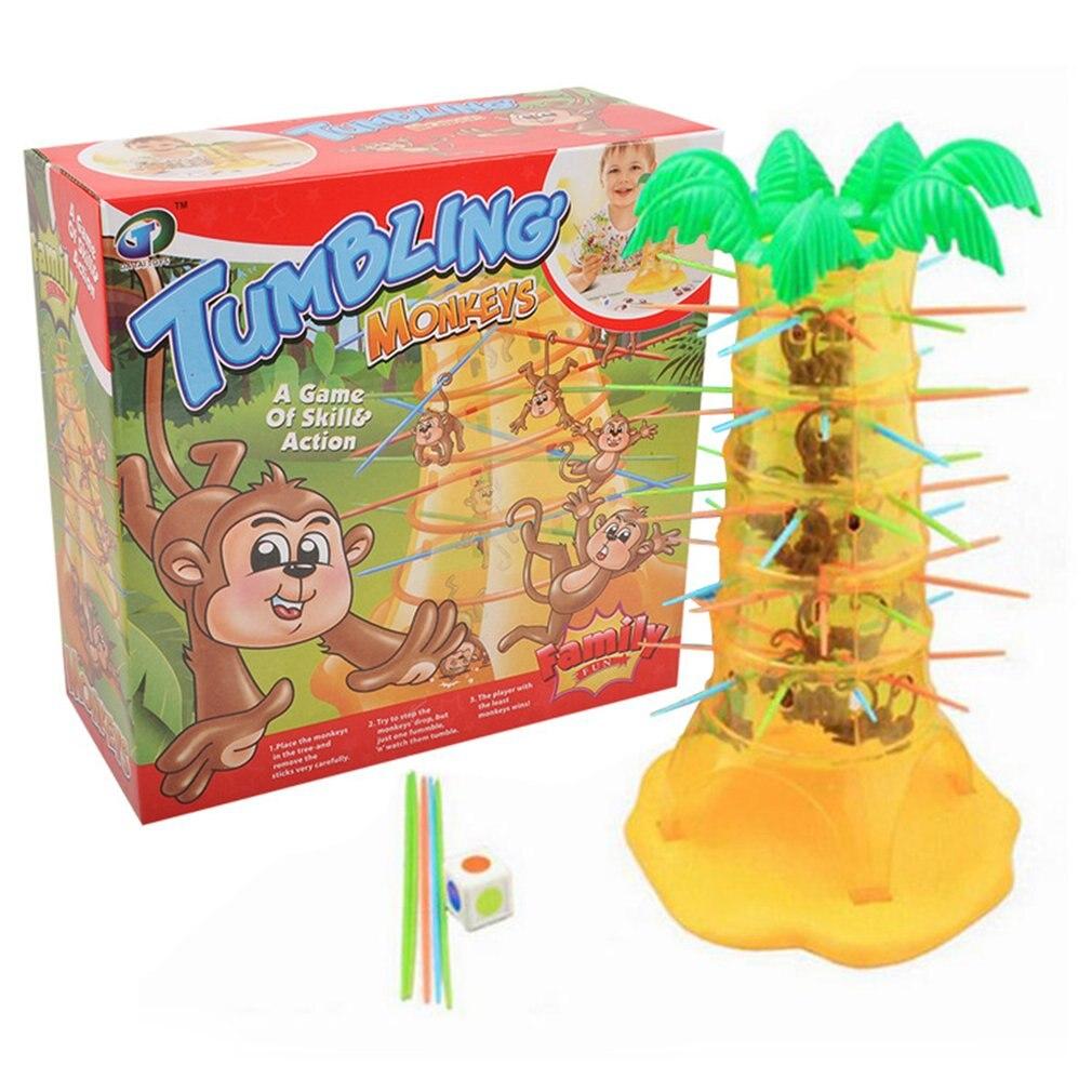 Multiplayer Desktop Game Monkey Climbing Tree Early Education Toys