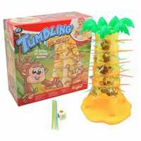 Multiplayer Desktop Game Monkey Climbing Tree Early Education Toys