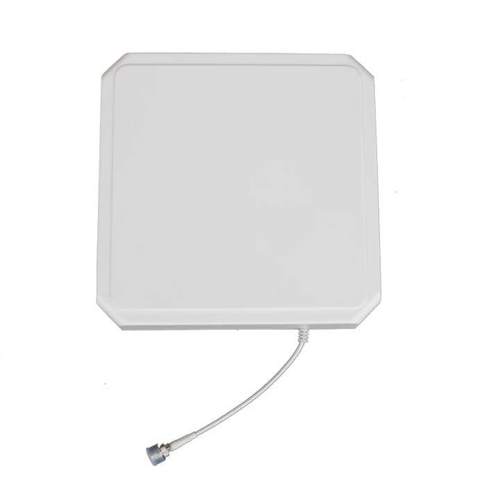IP65 Waterproof ABS UHF Rfid Antenna Circular Type With 9dBi Gain 915MHz
