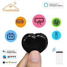 Timethinker Tuya IR Hub WiFi LED Light Smart Home Remote Control for Alexa Google Portable Love Shaped Samsung IOS