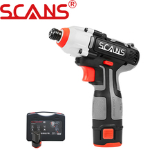 Power-Tool Impact-Screwdriver Professional Cordless 12V Lithium SCANS SC2121