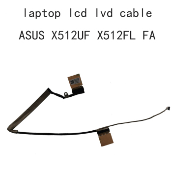 laptop LCD LVDs EDP Video Cable For Asus Vivobook X512 X512UF X512FL X512UF X512FA 1422-03BM0AS 14005-02890700 LVDS FLEX 30 pins ноутбук asus vivobook 15 x512fa bq458t 90nb0kr3 m06430 серый