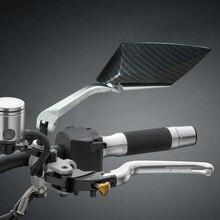 אופנוע צד מראה אלומיניום CNC Rearview צד מירור אוניברסלי עבור KTM exc yamaha r3 ybr 125 Kawasaki ninja 300 ninja 400
