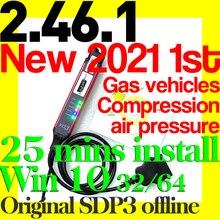 2021 סקאניה SDP3 2.46.1 VCI3 Vci 3 Multilanguage סוחר אבחון סריקת תכנית תיקון אדפטיבית עבור גז משאיות אוטובוסים רכב