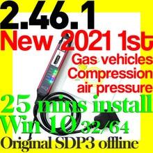 2021 scania sdp3 2.46.1 vci3 Vci-3 revendedor multilíngue diagnóstico programa varredura correção adaptativa para caminhões de gás ônibus veículo