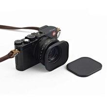 Đa Năng 43 Mm Nhôm CNC Vuông Kim Loại Vít Ở Núi Lens Hood Có Mũ Cho Canon Nikon Sony Phú Sĩ leica Ống Kính Voigtlander 43 Mm