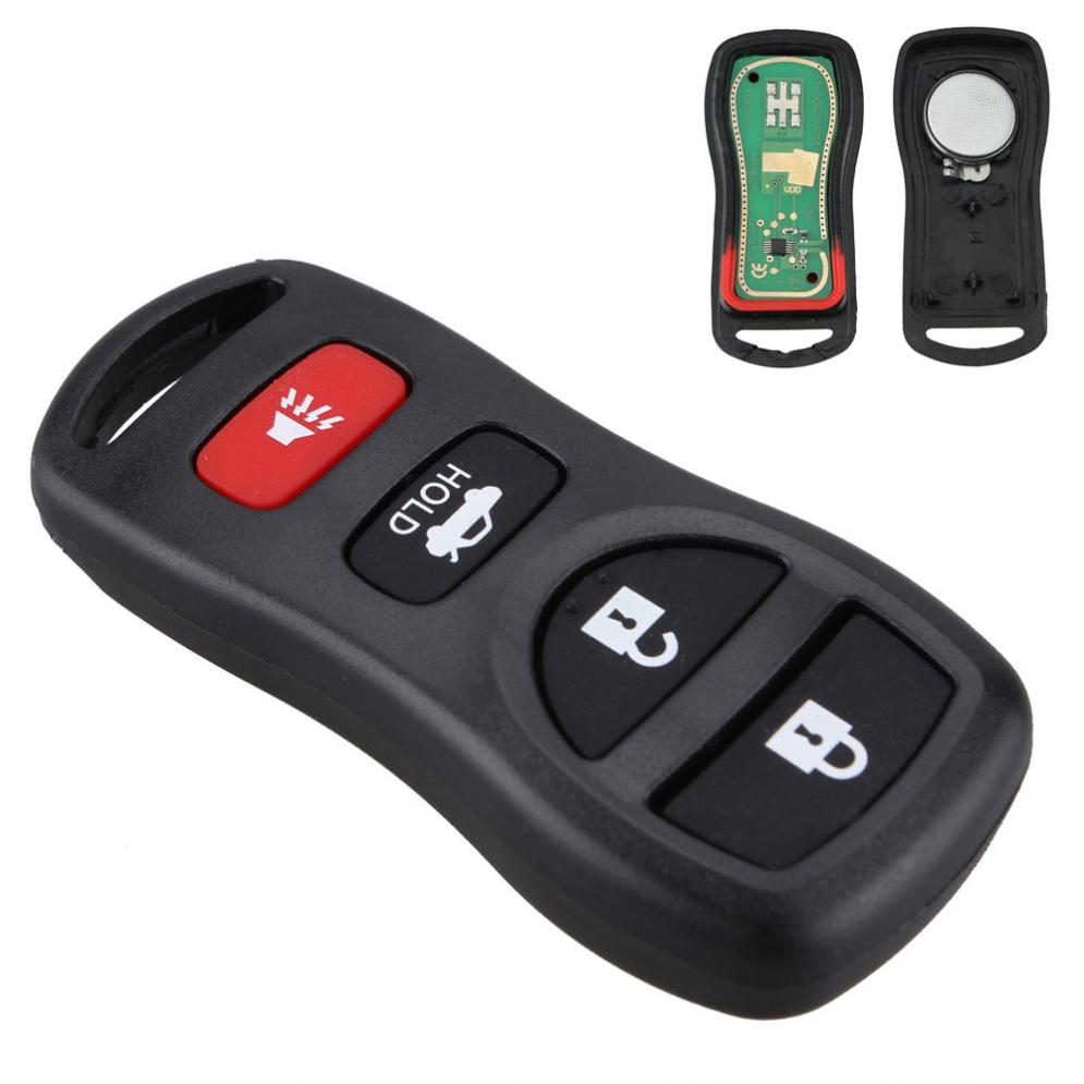 315MHz 4 Buttons Auto Car Keyless Entry Remote Control Keys Fob Clicker Replacement fit for Infiniti / Nissan 2002-2011 image