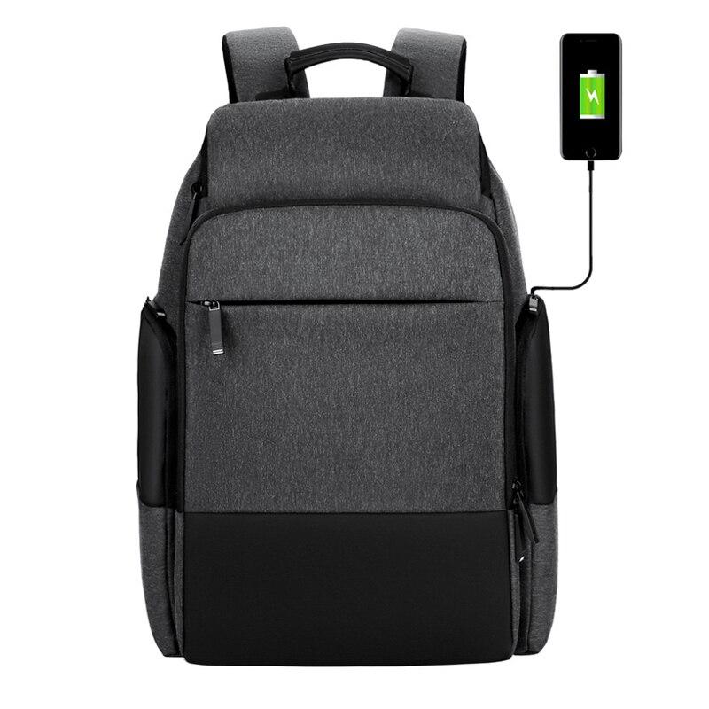 SIXRAYS Men Travel Backpack Large Capacity Male Mochila Back Anti-thief Bag USB Charging 15.6 Inch Laptop Backpack Waterproof