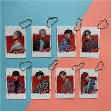 Фотоальбом Kpop atoez New Album TREASURE EPILOGUE: Action, чтобы ответить на такие же брелоки, двухсторонний ПВХ Печатный карточный кулон ATINY, 1 шт.
