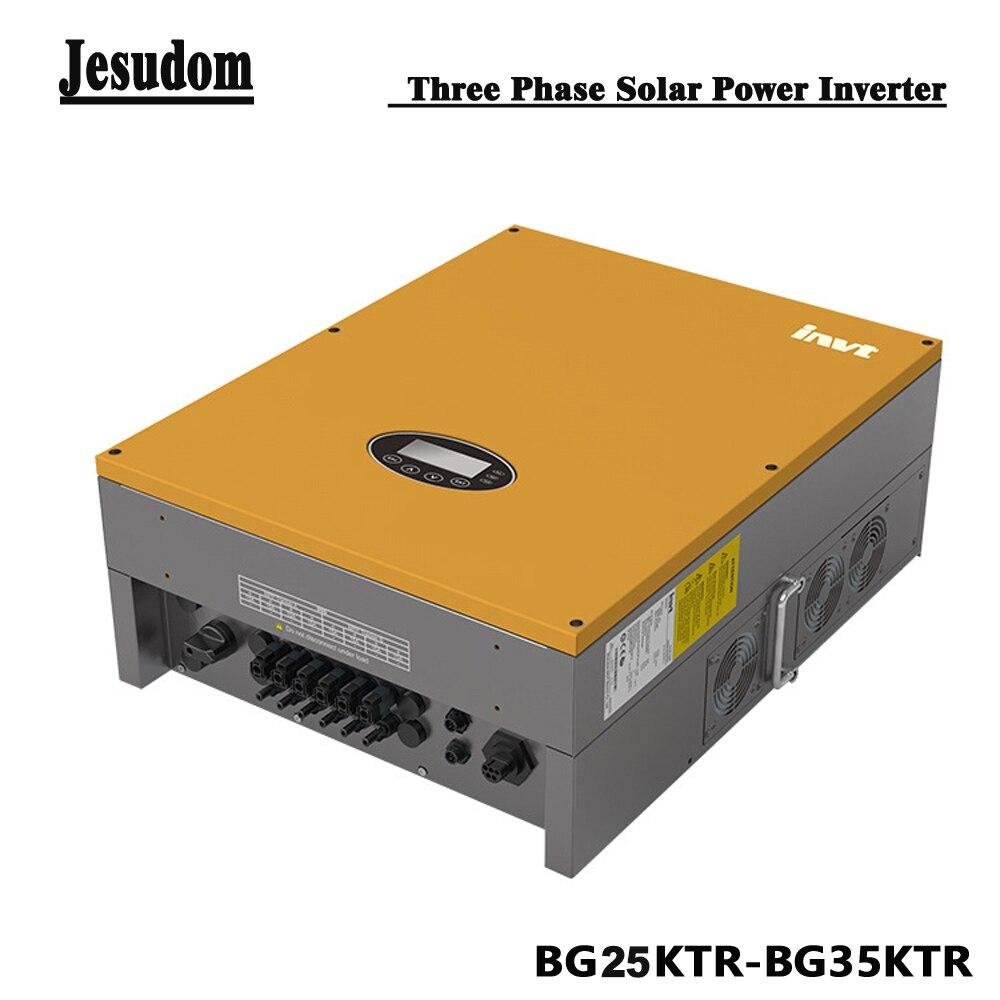 Pure Sine Wave On Grid Tie Converter 25kw 30kw 33kw 35kw Built In Zero Export Function 3 Phase Solar Power Inverter With Wifi Ct Inverters Converters Aliexpress