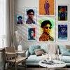 Ameryka Rap Singer 21 Savage Vintage Art plakat, Hip-Hop muzyka piosenkarka obraz ścienny na płótnie, Bar Pub element wystroju do klubu obraz ścienny,
