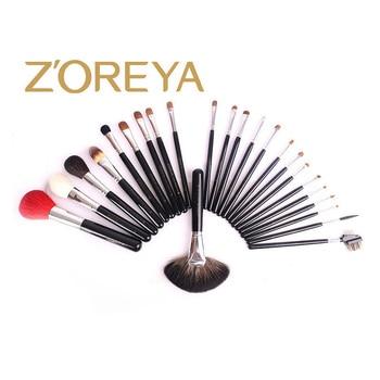 Makeup Brush Set 24 Sets Of Brush Black Wooden Handle Professional Makeup Set Brush High-end Beauty Tools