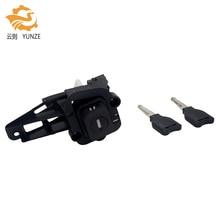 7701471225 RENAULT CLIO MK2 II 98 01 용 2 개의 키가있는 뒷문 트렁크 후방 실린더 잠금 장치