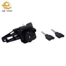 7701471225 fechadura traseira do cilindro do tronco da bota da bagageira com 2 chaves para renault clio mk2 ii 98 01