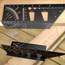 Aluminium Glasritzrades Schwalbenschwanz Kennzeichnung Vorlage Vertikale Winkel Kalibrierung Praktische Guide Schwalbenschwanz Marker Linie Holzbearbeitung Werkzeug