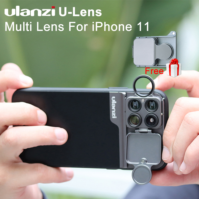 Ulanzi Case-Kit Phone-Case Macro-Lens Super Fisheye 5-In-1 20X CPL for 11 Pro-Max  title=