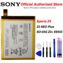 Original Sony 2930mAh Battery For Sony Xperia Z4 Z3 NEO Plus  SO-03G Z3+ E6553 AGPB015-A001 sony original replacement phone battery for sony xperia c5 ultra e5553 z3 z4 lis1579erpc authenic rechargeable battery 2930mah