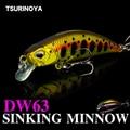 TSURINOYA DW63 тонущие приманки minnow комплект 50 мм 5g 4 шт Мини блесна жесткая приманка для рыбалки  плавающая приманка  Искусственные воблеры воблер...