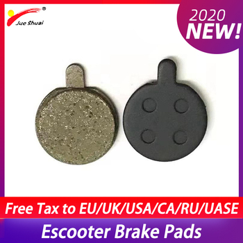 Almohadillas de freno negras para Patinete eléctrico, de diámetro 18,5mm, para X48 E, accesorios para Patinete eléctrico Adulto, Trotinette eléctrico