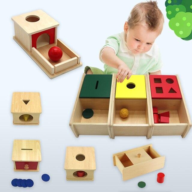 Kids Wooden Montessori Toys Memory Match Stick Educational Color Cognitive Geometric Shape Puzzles Toys For Children 1