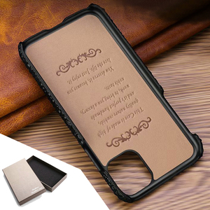 Image 5 - Genuine Leather Case For iPhone 11 Pro Max Back Case Ckhb op Luxury Croc Head Phone Bag Cover For iPhone 11Pro Max Case