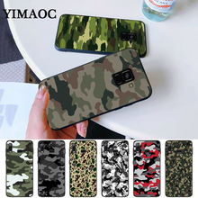 Camouflage Pattern Camo military Army Silicone Case for Samsung A3 A5 A10S A50S A6 Plus 2018 A7 A8 A9 A10 A30 A40 A50 A60 A70 J6