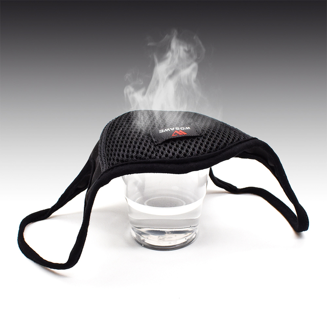 Breathable Sports Dustproof Mouth Full Mesh Filter Dust Face Mask 5