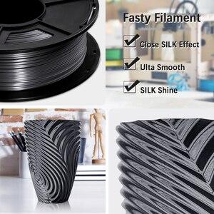 Image 3 - SUNLU di Seta 1.75 MILLIMETRI Pla Filamento 1kg 1.75 millimetri di seta Stampante 3d Filamento per 3D Pieno di Seta di colore Fialment per il FAI DA TE materiale illustrativo di stampa