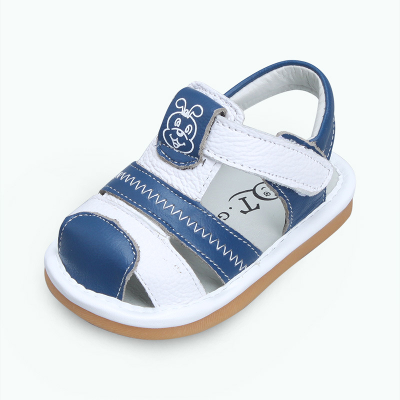 XQT.GZ Summer Baby Footwear Baby First Walkers Cowhide Non-slip Breathable Boys Girls Shoes