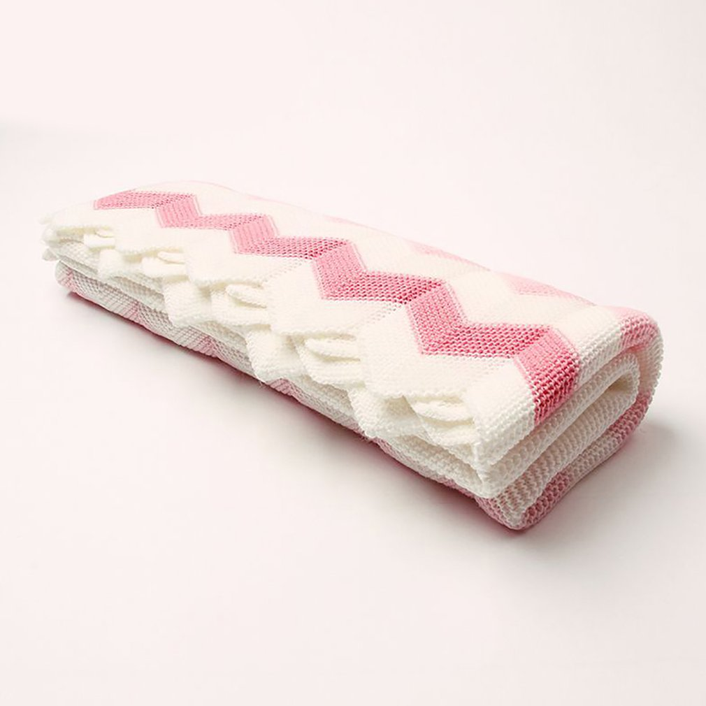 Baby Blanket Knitted Newborn Swaddle Wrap Blankets Super Soft Toddler Infant Bedding Quilt For Bed Sofa Blankets Autumn Spring