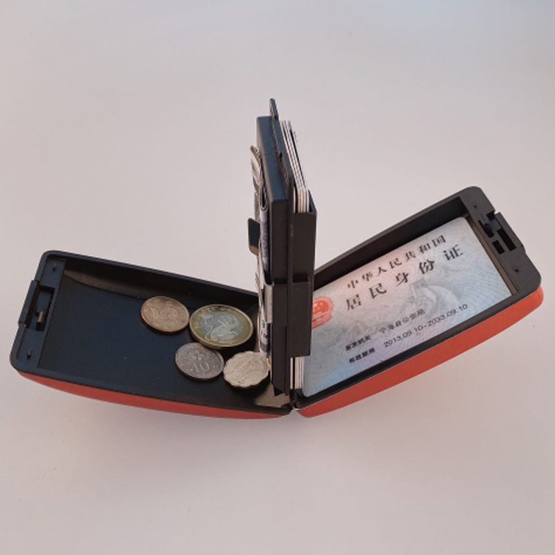 Multifunction Aluminum Card Wallet RFID Blocking Credit Card Holder For Men Women Travel Business Coins Cash Keys Name Card