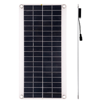 15W 5V Portable Solar Panel Set Double USB Port Flexible High Efficiency Sunpower Polycrystalline Solar Panel Power Kit