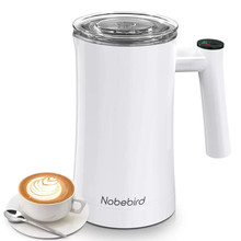 Automatic Milk Frother Electric Milk Steamer Cappuccino Machine Foamer Stainless Steel Home Appliances