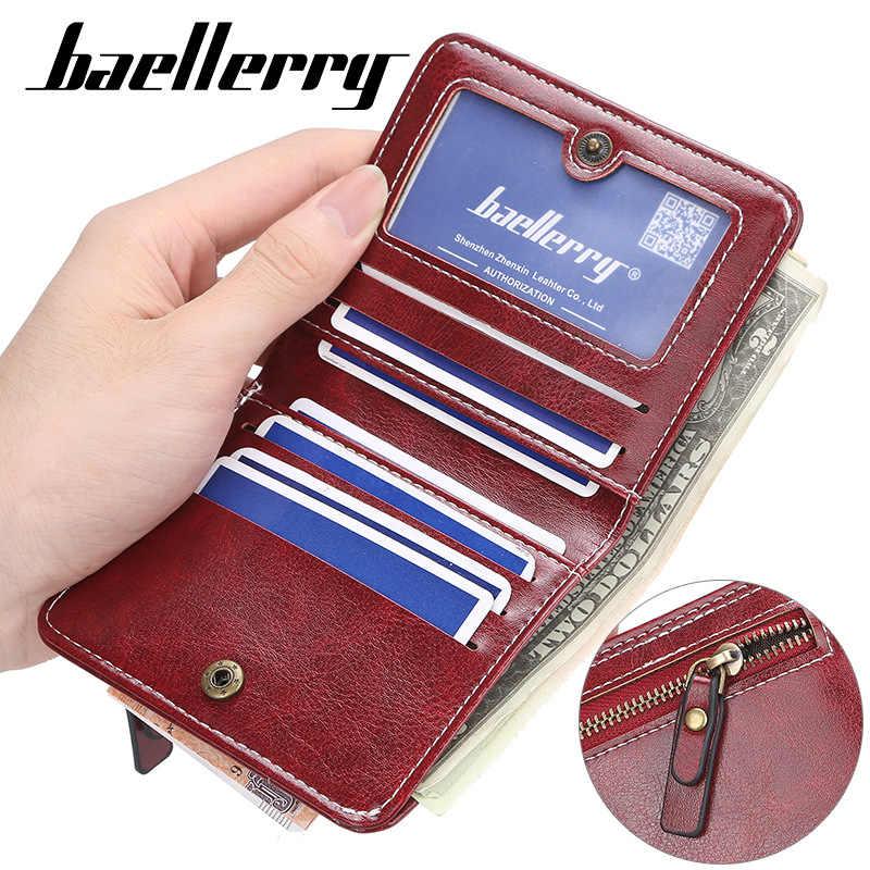 2020 Slim kobiety portfele nazwa grawerowanie Mini etui na karty PU skóra krótki Desigh torebka damska moda etui na monety kobiety portfele