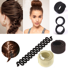 Magic Foam Sponge Donut Hair Bun Maker Hairpins Braider Hairdressing Accessories