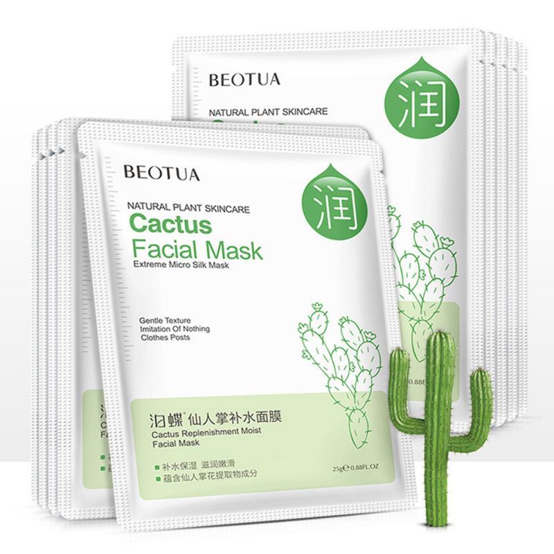 4 Types Deep Brighten Moisturizing Mask Nourish Hyaluronic Acid Facial Mask Anti-Aging Face Skin Care Beauty Sheet Mask TSLM2