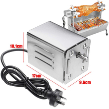 Motor Rotisserie-Motor Bbq-Grill Spit Roasting Ce for Furnace Lambs Piglets Stainless-Steel