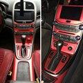 Автомобильный Стайлинг 3d/5D углеродное волокно Автомобильная внутренняя центральная консоль изменение цвета литье наклейки для Chevrolet Malibu ...