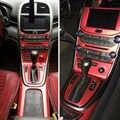 Автомобильный-Стайлинг 3d/5D углеродное волокно Автомобильный интерьер центральная консоль изменение цвета молдинг наклейки для Chevrolet Malibu ...