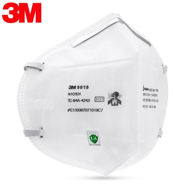 N95 Face Masks 3M 9010 Mascarilla Reutilizable Safety Mask Breathe Freely Headband Masks 3M Original Mascarillas KN95 3
