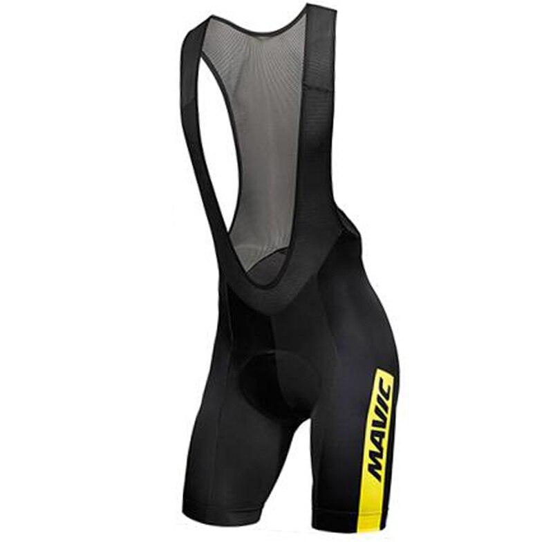 New Men new summer mavic shorts quick-drying bicycle cycling Bib Shorts Maillot Culotte 19D Gel breathable cushion clothes