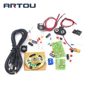 Laser Wireless Audio Transmission Kit Infrared Teaching Experiment Fun Electronic DIY Production Assembly(China)