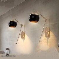 Modern Art Glass Ball Wall Lights for Home Decor Dining Room Wall Lamp Bedroom Lights Cafe LED Light Living Room Light Fixtures