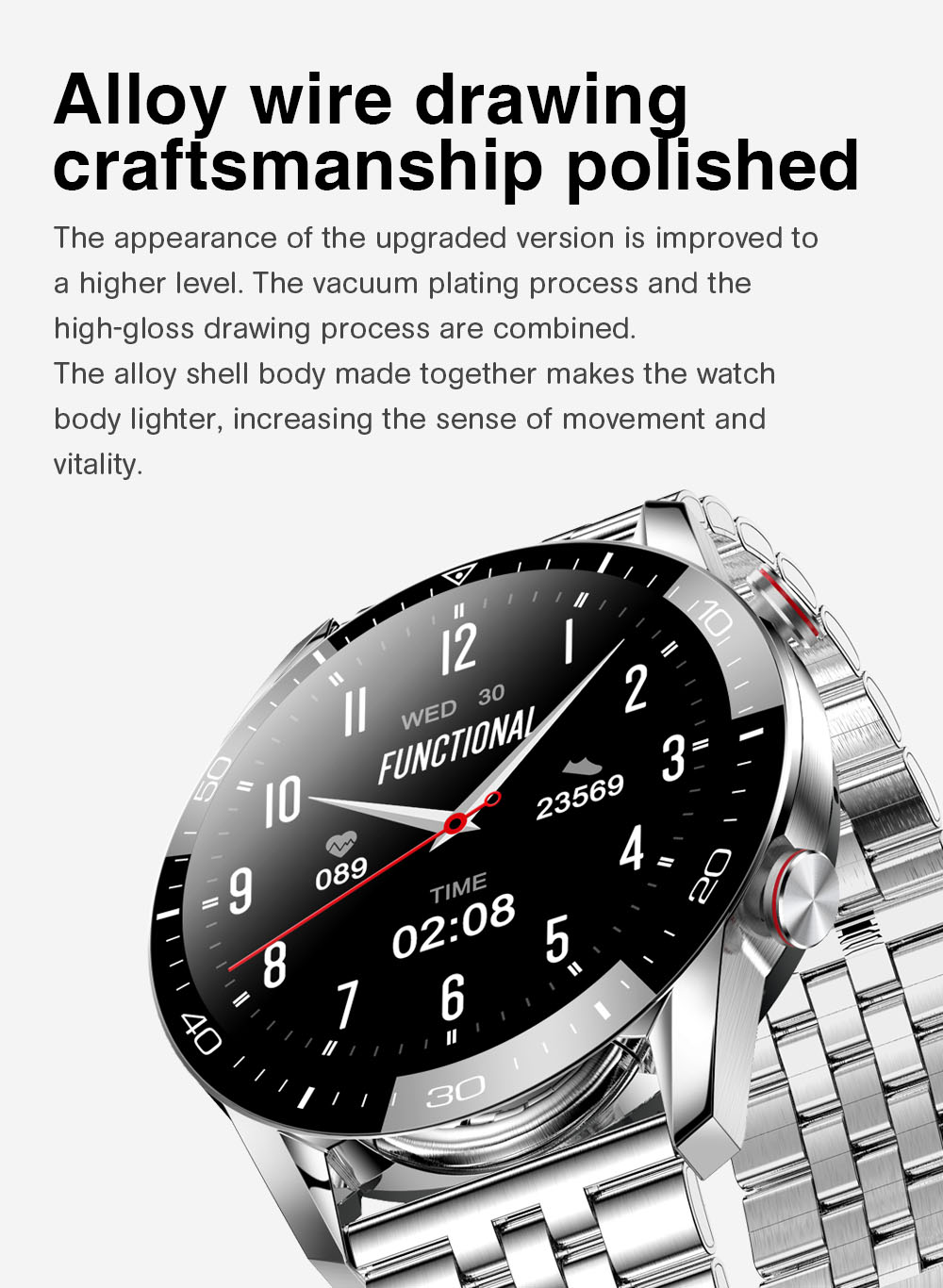 H0b9d9c5918e8404894d8285007fb4442q TK2-8 Smart Watch For Men Bluetooth Call IP68 Waterproof Blood Pressure Heart Rate Monitor New SmartWatch Sports Fitness Tracker